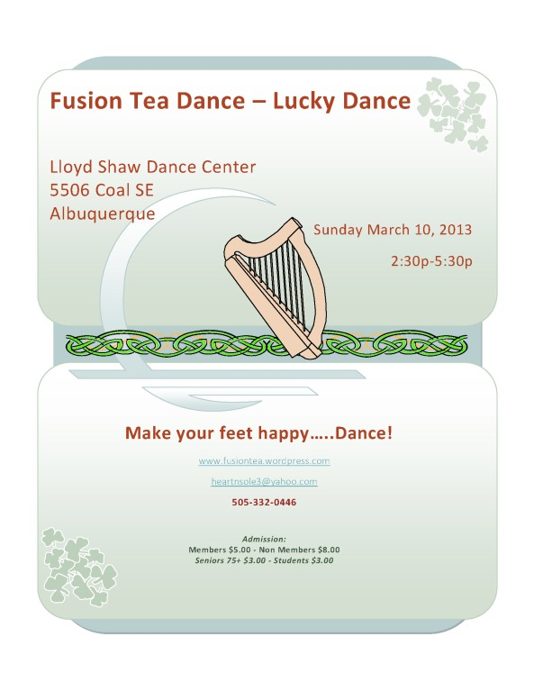 lucky dance ftd 3 10 13